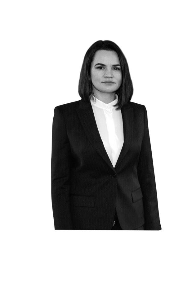 Svetlana Tichanoskaja - Geen eenheid