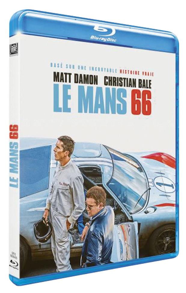 5x blu-ray Le Mans '66