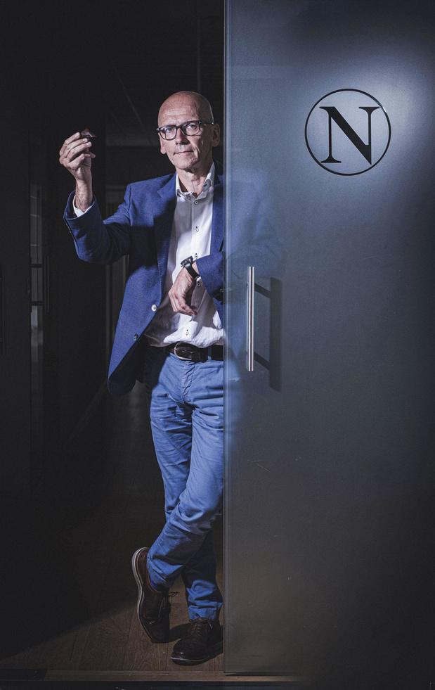 """Ignace Van Doorselaere, CEO De Neuhaus: """"Si on n'a pas de cicatrice, c'est qu'on n'a pas vécu"""""""