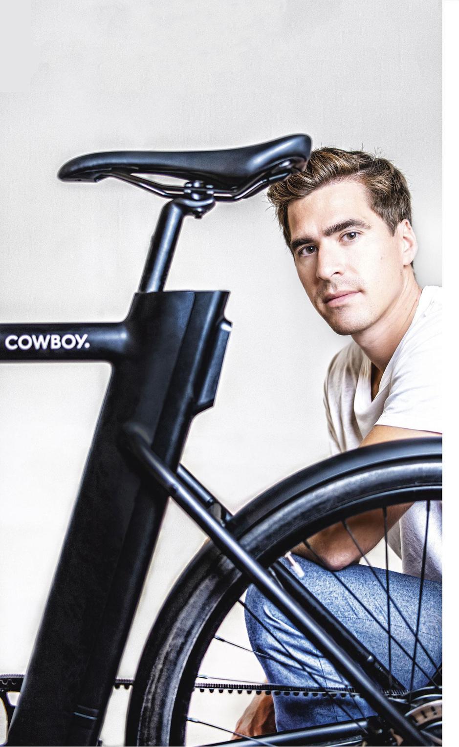 Tanguy Goretti (CTO e-bikemerk Cowboy): 'Wij verkopen een nieuwe levensstijl'