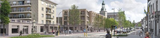 Wie zijn de architecten van de gebouwen van de weireldstad Oarelbeke?