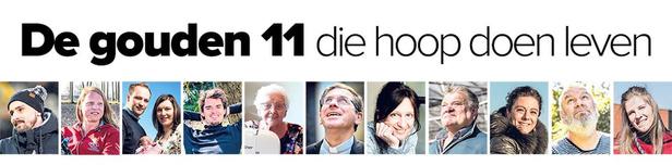 Hoopgevers: de gouden 11 die hoop doen leven