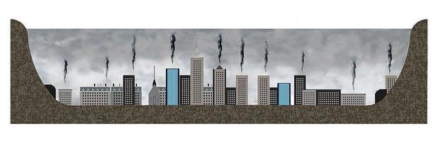 Luchtvervuiling jaagt Europese steden op kosten