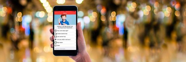 Rode Kruis lanceert eerstehulp-app