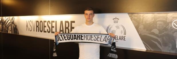 Niels Verburgh en Panos Armenakas tekenen contract bij KSV Roeselare