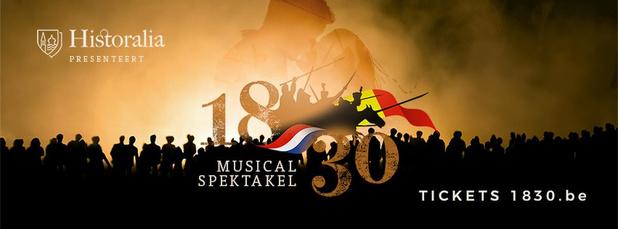 Musicalspektakel '1830' in augustus 2020 wordt verplaatst naar augustus 2021