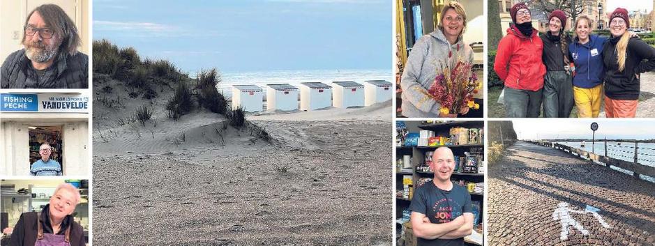 """10.000 stappen in Nieuwpoort: """"Als onze vissers terug zijn, is het tijd voor verse vis én liefde"""""""