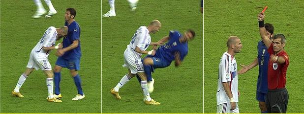 Flashback naar 9 juli 2006: Zinédine Zidane neemt met een kopstoot afscheid als voetballer