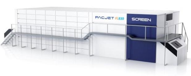Screen met au point un système jet d'encre rapide pour emballages souples