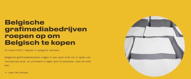 Open brief om Belgisch drukwerk te kopen levert veel positieve reacties op