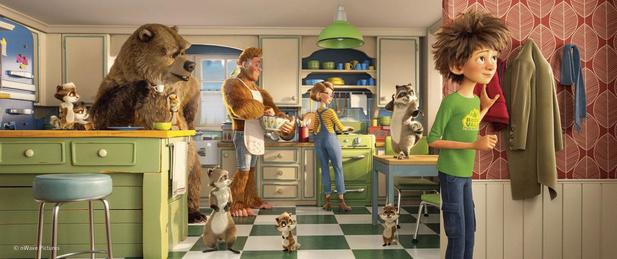 Bigfoot Family, un divertissement 3D aux allures de montagnes russes