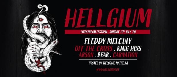 King Hiss trekt mee de kar van livestreamfestival HELLGIUM