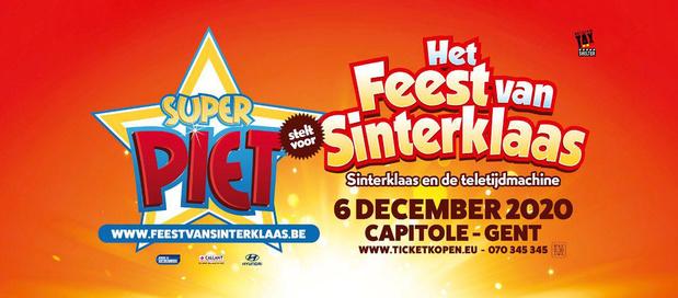 Capitole Gent viert op zondag 6 december 'Het Feest van Sinterklaas'