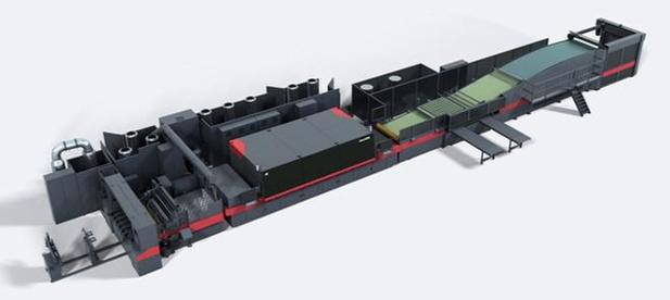 Pools bedrijf gaat digitaal printen op karton met de Efi Nozomi C18000