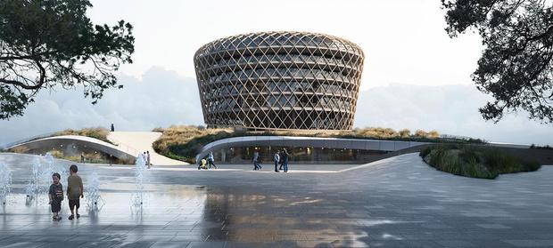 """Burgemeester Dedecker enthousiast over nieuw casino: """"Mooiste gebouw van Vlaanderen"""""""