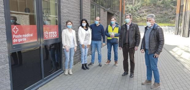 Namur s'organise grâce aux postes médicaux d'orientation