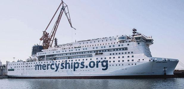 Le plus grand navire hôpital du monde vers Anvers