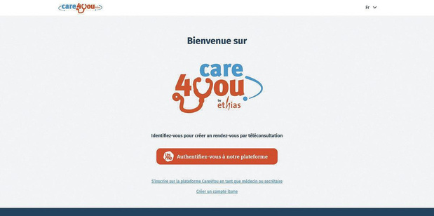 Care4you, une nouvelle plateforme de vidéoconférence sécurisée