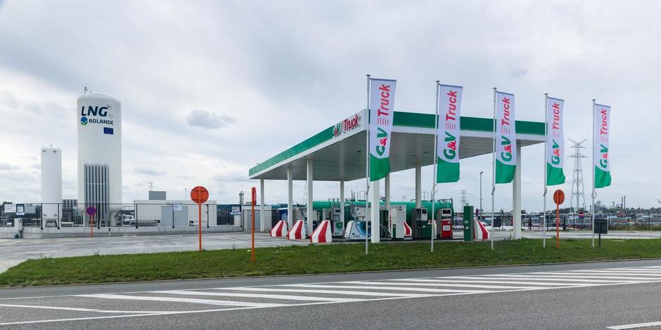 G&V Energy Group uit Kuurne en Rolande openen hun eerste LNG tankstation in België