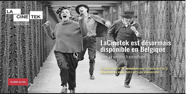 Les auteurs à LaCinetek