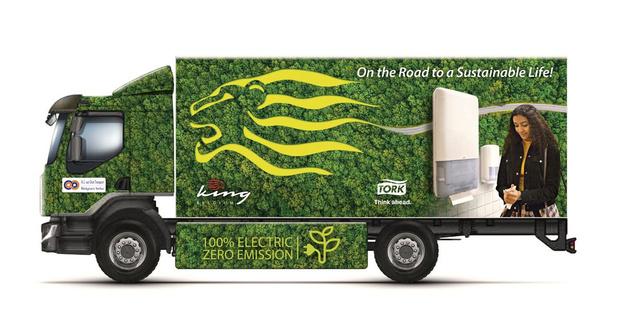 Tork vervoert producten voortaan elektrisch