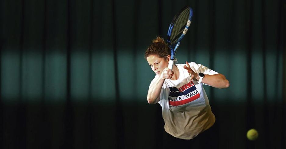 Kim Clijsters: 'Ik heb mezelf nooit als een ster beschouwd'