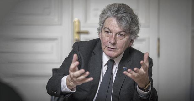 """Thierry Breton, commissaire européen au marché intérieur: """"Chaque Etat doit être en capacité de sauver son tissu industriel"""""""