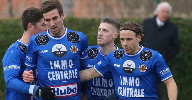Royal Knokke FC oefent in Waasland Beveren op dinsdag 4 augustus