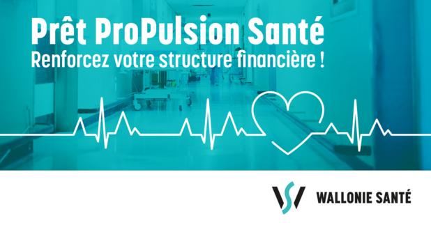 ProPulsion Santé, le nouveau produit de Wallonie Santé pour faire face à la crise