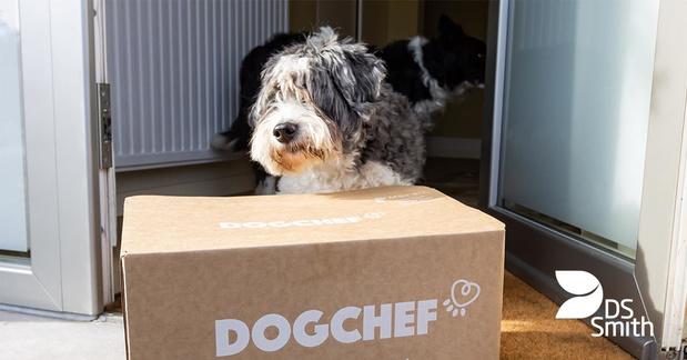 Dog Chef économise du carton avec la nouvelle foodbox de DS Smith