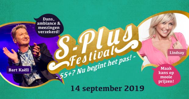 Maak kans op één van de 5 duotickets voor het S-Plus Festival