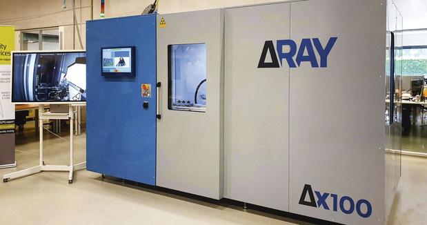 Delatray: scanning 3D aux rayons X