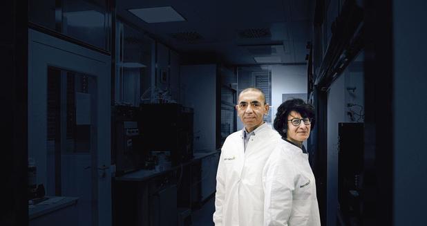 """Entretien avec Ozlem Spiegel et Ugur Sahin (BioNTech), les """"Curie du Covid"""""""