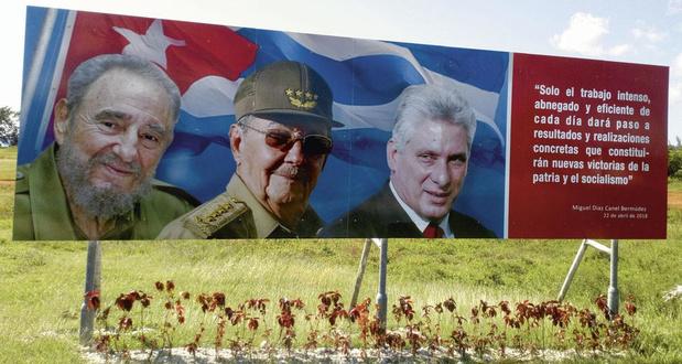 Raul Castro s'en va, mais Cuba reste sur la même ligne
