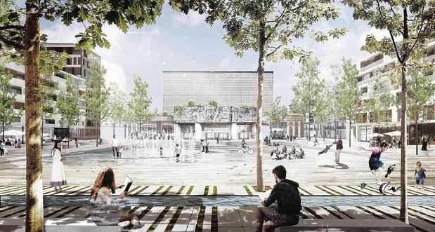 Liège: lancement du quartier Rives Ardentes