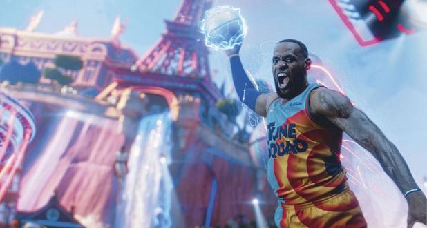 Space Jam: LeBron James veut aussi conquérir Hollywood