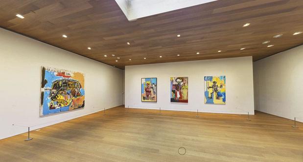 1 Bezoek de virtuele tentoonstelling van Basquiat