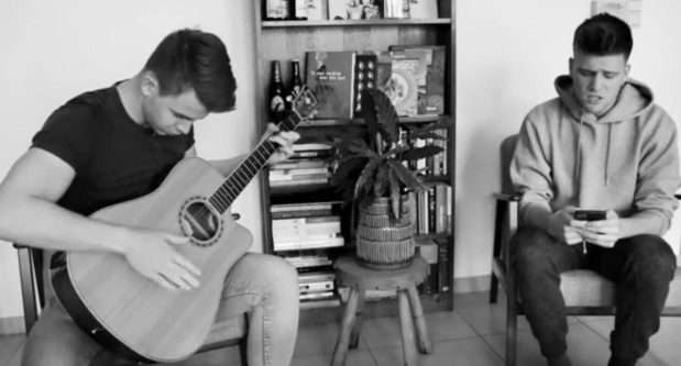 Jonge muzikanten roepen vrienden op thuis te blijven met nieuwe song