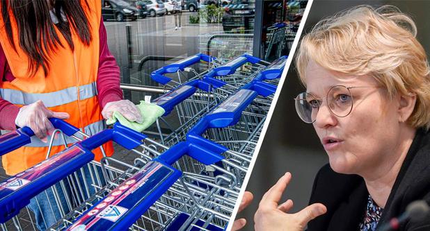 """Minister Muylle over agressie in supermarkt: """"Regelmoeheid bij klanten en personeel"""""""