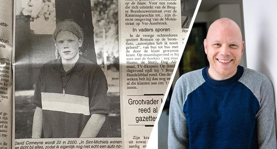 20 in 2000: David Comeyne is zijn wilde haren kwijt