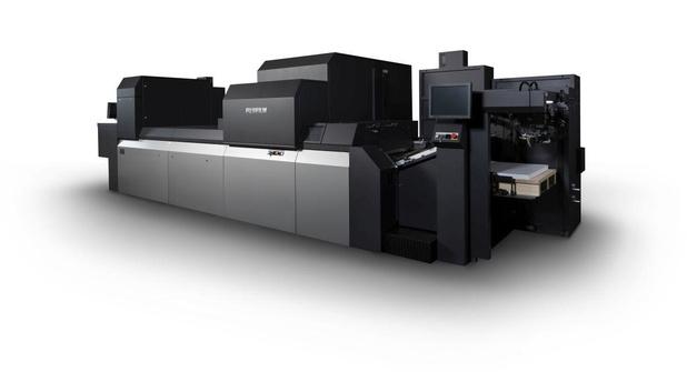 Fujifilm stelt zijn nieuwe Jet Press 750 S High Speed voor