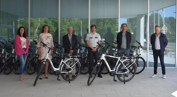 Nieuwe elektrische fietsen voor PZ Westkust