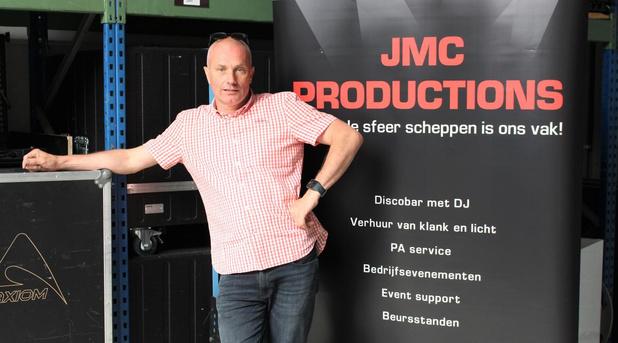 Jan Samaey zoekt alternatieven voor zijn bedrijf nu alle evenementen zijn afgelast