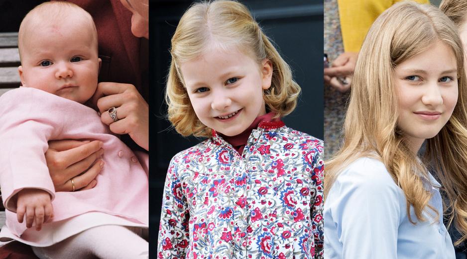 La princesse Elisabeth de Belgique fête ses 18 ans: retour en images sur quelques moments de sa vie