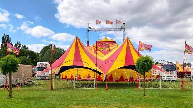 Circus Barones brengt gloednieuwe voorstelling