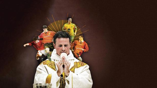 D'Old Trafford à l'autel: la folle histoire de ce footeux devenu prêtre