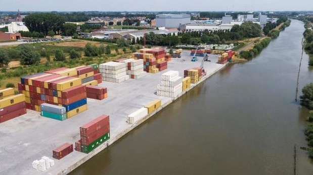 Bouw River Terminal Roeselare gaat maandag van start