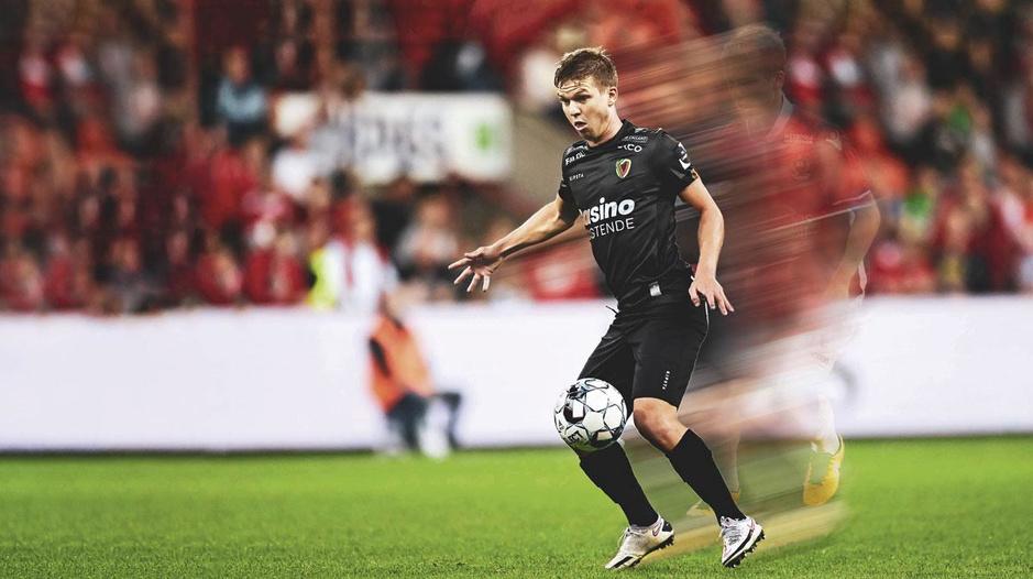 Vincent Koziello, de Franse aanwinst van KV Oostende: 'Ik kan weer bevrijd voetballen'