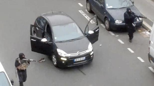 """Les 2 minutes où Charlie Hebdo a été décimé par des """"machines de guerre"""""""