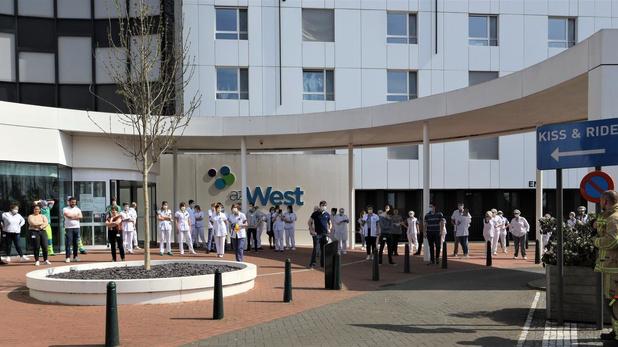 Dalende trend ziekenhuisopnames in AZ West Veurne houdt aan